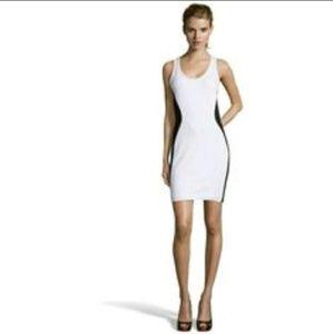 Rebecca Minkoff White/Black Elle Dress